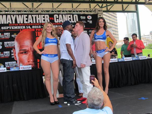 El ex boxeador y ahora promotor Oscar De La Hoya se perder la pelea de este sbado en Las Vegas entre su pupilo, el mexicano Sal 'Canelo' Alvarez y Floyd Mayweather Jr. tras ingresar esta semana a un centro de rehabilitacin.