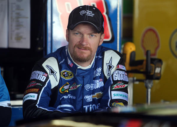 When Dale Earnhardt Jr. isn't swapping paint with fellow NASCAR drivers, he's mixing it up with Jay-Z and Will Ferrell
