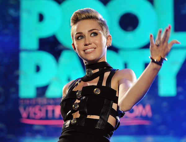 Miley Cyrus, seen here in June, has set a viewing record on Vevo with her latest video.