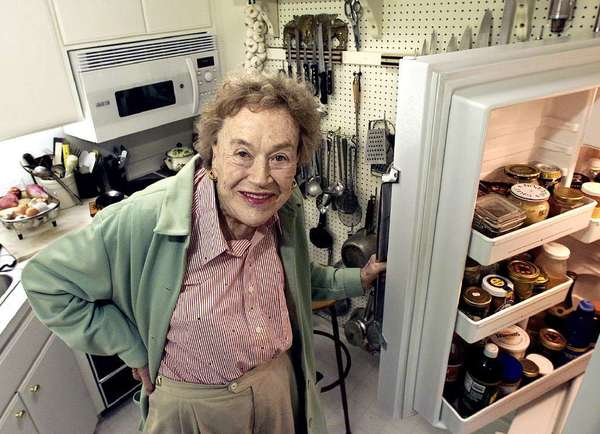 Julia Child in Montecito.