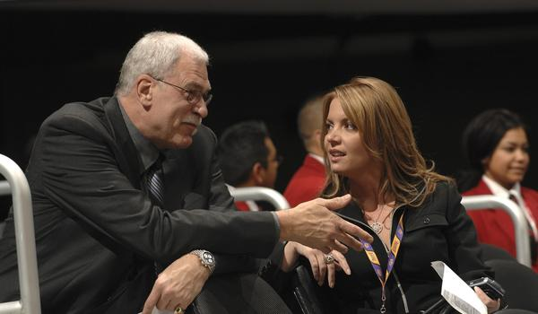 Will Phil Jackson and Jeanie Buss have roles in an upcoming drama centered on a pro basketball team?