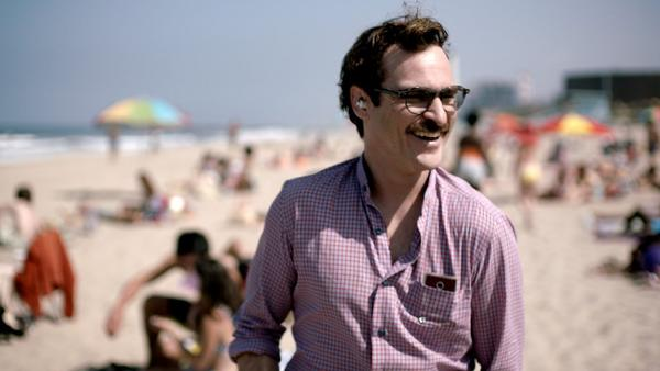 "Joaquin Phoenix stars in Spike Jonze's ""Her,"" which the filmmaker previewed at the Toronto International Film Festival."