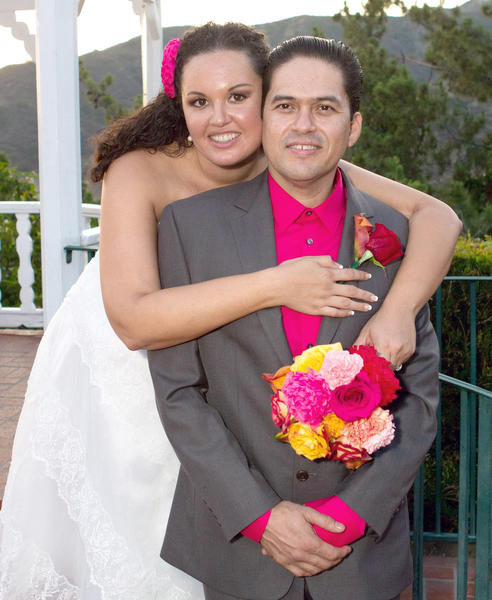 Marisa L. Gallegos and Alejandro Acosta were married in July at the Castaway Restaurant.