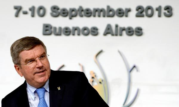 Thomas Bach has been elected as the new president of the International Olympic Committee.