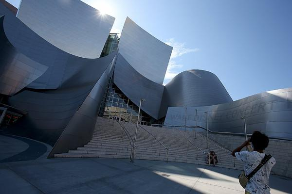 What are your memories of Walt Disney Concert Hall?