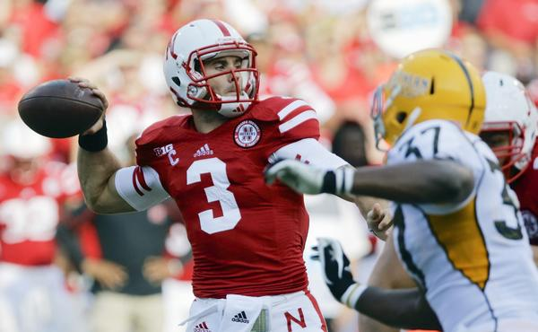 Nebraska quarterback Taylor Martinez's ability to run the ball makes him a capable two-way threat on offense for the Cornhuskers.