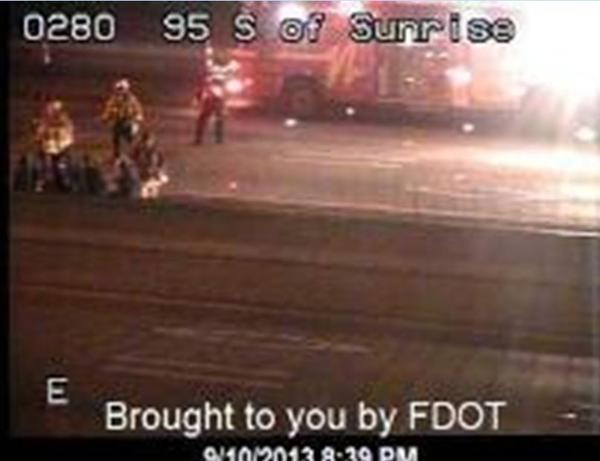 Ten hurt in I-95 crash that closed northbound lanes in Fort Lauderdale