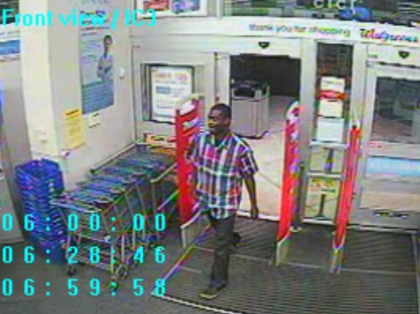 Fort Lauderdale Police are searching for this man following an armed robbery at a Walgreens