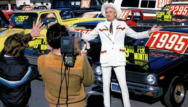 California car salesman Cal Worthington is remembered less for the phenomenal volume of cars he sold than for his oddball TV ads.