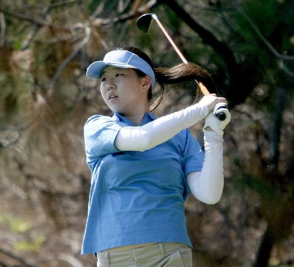 Crescenta Valley High girls' golfer Audrey Chung carded a 39 in the second Pacific League match of the season.