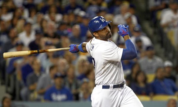 Dodgers outfielder Matt Kemp has missed 81 games this season because of injury.