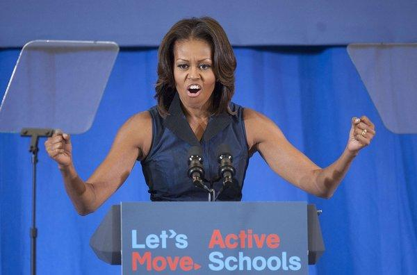 First Lady Michelle Obama, shown during a speaking appearance last week in Washington, will headline a Democratic Congressional Campaign Committee fundraiser next month in San Francisco.