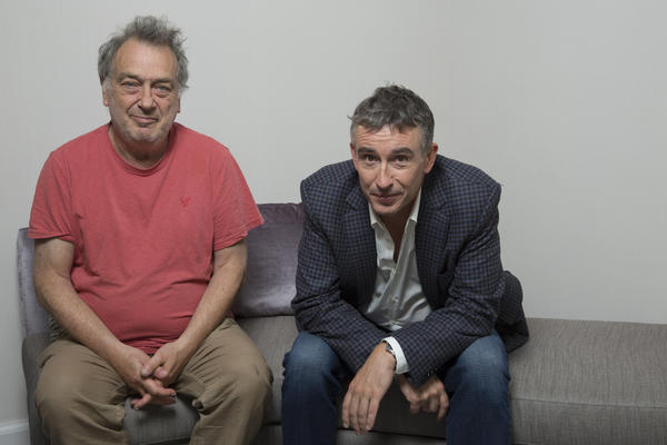 "Director Stephen Frears and writer-actor Steve Coogan are the creative forces behind the movie ""Philomena,"" which generated more laughs than they expected at the Toronto Film Festival."