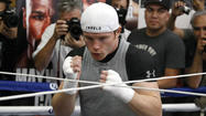 Saul 'Canelo' Alvarez is up for the challenge
