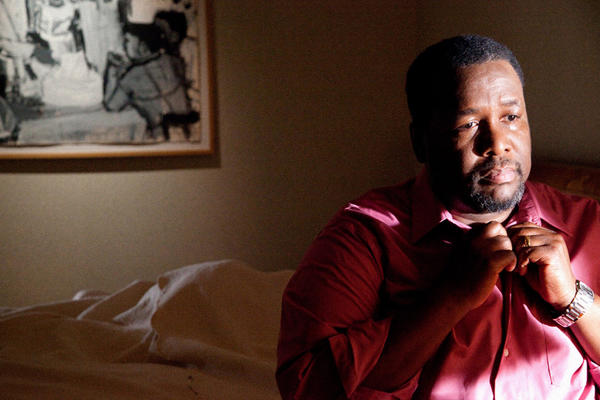 Actor Wendell Pierce plays a conflicted husband and father who has an affair with a teenage boy on a Fourth of July night in the new movie FOUR.