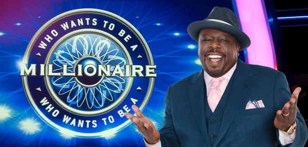 "Cedric the Entertainer is the new host of ""Who Wants to Be a Millionaire."" The show will be auditioning in Towson Sept. 12."