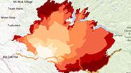 Interactive map: How the Rim fire in Yosemite grew