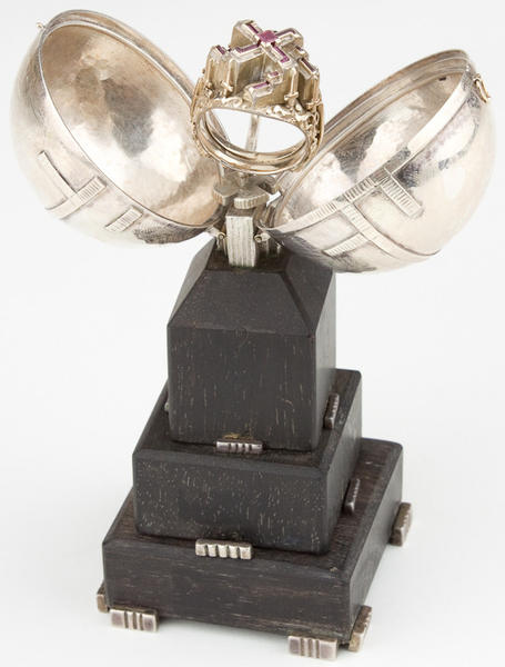 This ring, once owned by Adolf Hitler, sold at a Cecil County auction for nearly $66,000.