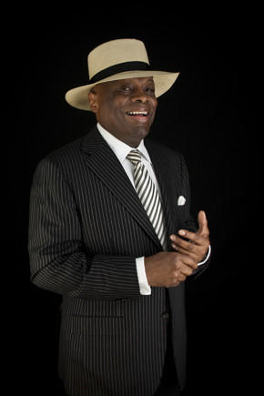 Willie Brown poses for a photo in his office at the Willie Brown Institute in San Francisco.