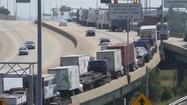 Video: Threat slows interstate traffic at tunnel