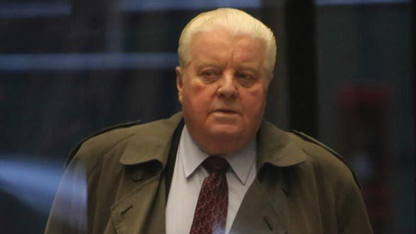 Jon Burge at a recent court hearing. The Chicago City Council approved settlements in two cases involving brutality claims involving the former police commander.