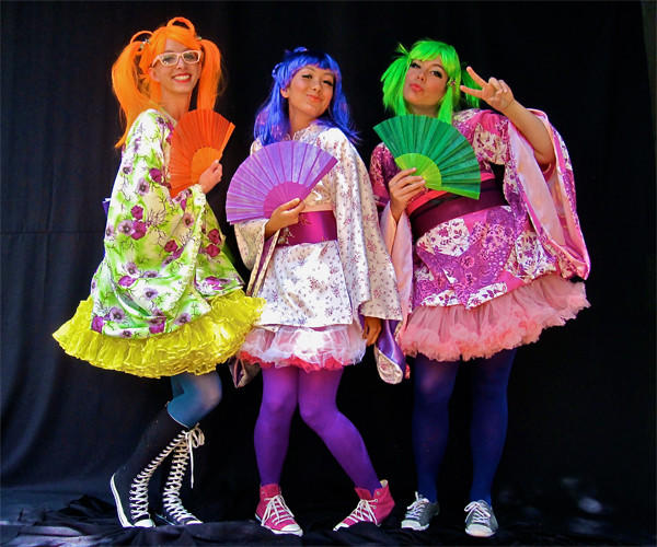 """Pacific Opera Project presents a contemporary, Harajuku-styled take on the Gilbert and Sullivan classic """"The Mikado."""""""