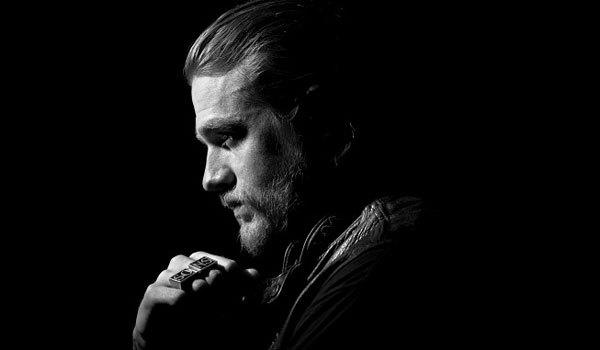 "Charlie Hunnam plays the leader of the motorcycle gang in ""Sons of Anarchy."""