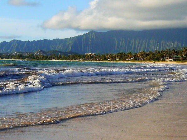 Kailua Beach on the windward side of Oahu is the antithesis of Waikiki: quiet, uncrowded, decidedly unglamorous. That makes it just about perfect for a day at the beach or a lifetime of remembrance.