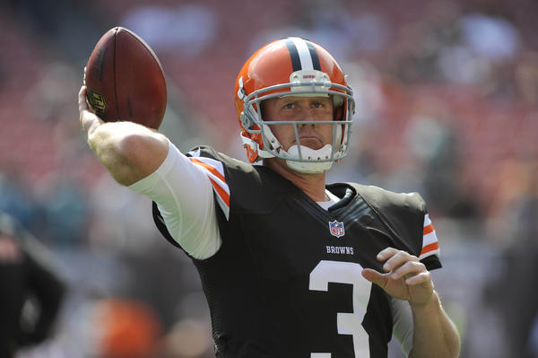 Cleveland Browns quarterback Brandon Weeden says he never got paid while at Oklahoma State.