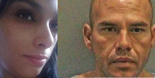 The body of Nancy Hammour, left, was found under the Newport Bay bridge on Labor Day. Jaime Prieto Rocha, 40, right, has been charged in her death.