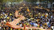 A 250-mile show of support for Catalonia independence
