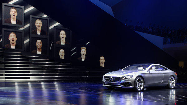 Mercedes brought five new vehicles to the 2013 Frankfurt Motor Show: The S-Class coupe concept, a fully autonomous S500 sedan, an S500 plug-in hybrid, the 585-horsepower S63 AMG sedan, and the all-new compact GLA crossover that shares a platform with the new, front-wheel-drive CLA sedan.