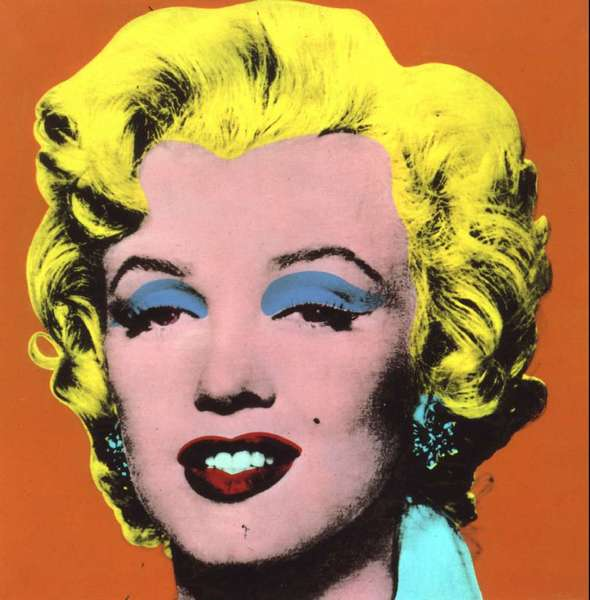 This silk-screen portrait of Marilyn Monroe by Andy Warhol was sold at a Sotheby's auction for $17.3 million in 1998. Warhol's friend, Charles Lisanby, turned down the artist's offer of one as a gift.