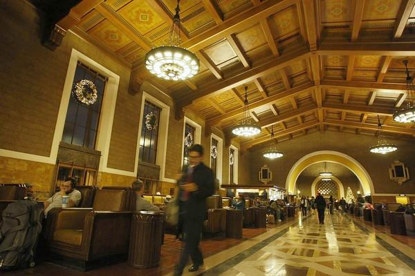 Union Station in Los Angeles will witness an uptick in visitors crowned with headphones.