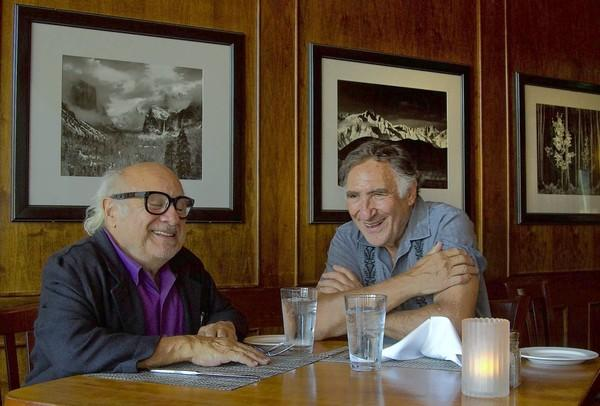 Photo of Judd Hirsch & his friend  Danny