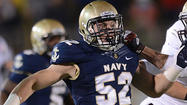 Given a chance, Navy's D.J. Sargenti finds a home as starting linebacker