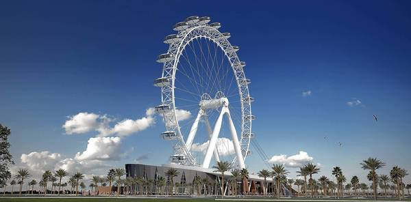 The Great Orlando Wheel, shown here in a rendering, was never built.