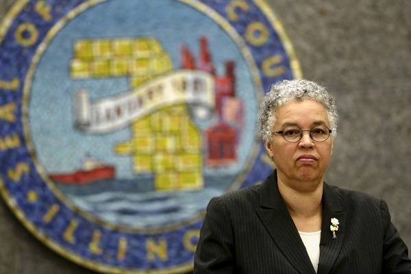 On Wednesday, the Cook County Board led by President Toni Preckwinkle did not vote on a nonbinding resolution asking for the resignations of Metra's two remaining Cook County representatives. Instead, it was sent to the board's Legislation and Intergovernmental Relations Committee.