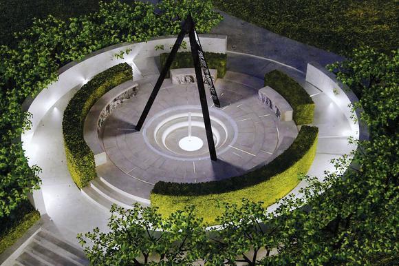 Designer Catherine Menard's rendition of her winning entry for an Armenian genocide memorial in Pasadena