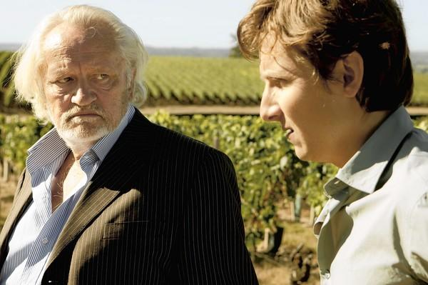 """Niels Arestrup , left, and Lorant Deutsch star in """"You Will Be My Son."""""""
