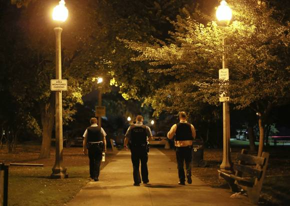 Chicago overnight shooting scene