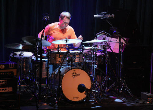 Drummer Keith Carlock solos as Steely Dan performs in concert at Hard Rock Cafe Orlando on Wednesday, September 11, 2013.  (Joshua C. Cruey/Orlando Sentinel)