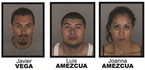 Three people have been charged in connection with a burning body that was found Sept. 4 near Castaic.