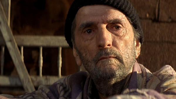 "A scene from ""Harry Dean Stanton: Partly Fiction."""