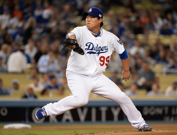 Dodgers pitcher Hyun-Jin Ryu has a 3.52 ERA in his last 10 starts.