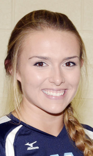 Petoskey junior Sara Donakowski finished with a team-high 11 kills Wednesday as the Northmen fell to Cadillac in three sets in a Big North Conference match.
