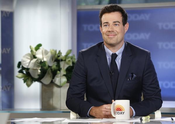 "Carson Daly on NBC News' ""Today"" show in New York."