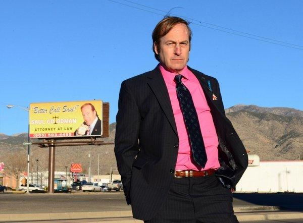 "A ""Breaking Bad"" spinoff featuring Saul Goodman who is played by Bob Odenkirk."