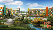 Pictures: Universal Orlando reveals plans for fourth on-site hotel