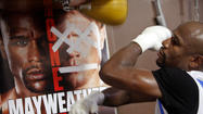 30-second workout with Floyd Mayweather Jr.